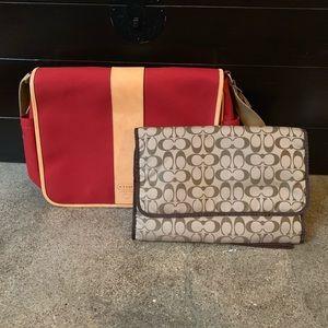 Coach Messenger/ Laptop Bag
